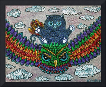 Rainbow Owl Ride