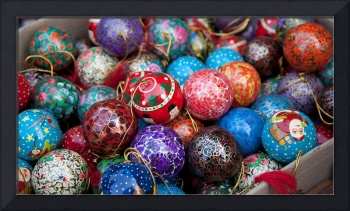 Christmas Decorations in New Delhi, India