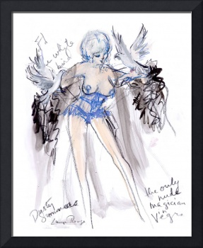 Burlesque Legend, Dusty Summers, by Luma Rouge