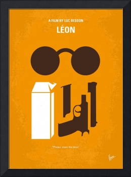 No239 My LEON minimal movie poster