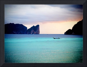 Thailand: Koh Phi Phi: Sunset at the Beach (2015)