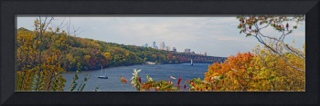 Panorama October Mississippi River
