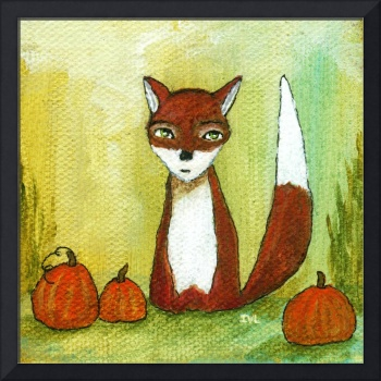 Making Choices,Fox and Pumpkins,Abstract Landscape