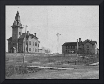 First Polk County courthouse and jail