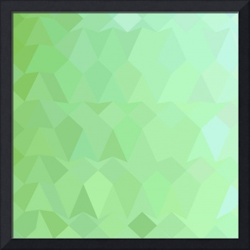 Absinthe Green Abstract Low Polygon Background