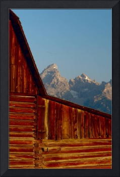 Grand Teton National Park Barn Closeup