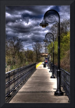 Bordentown Train Stop HDR