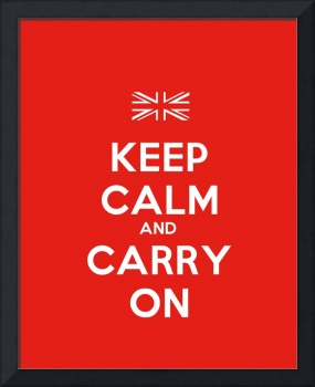 Keep Calm And Carry On, Motivational Poster