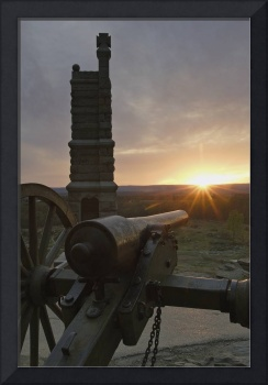 1DV637 Sunset from Little Round Top