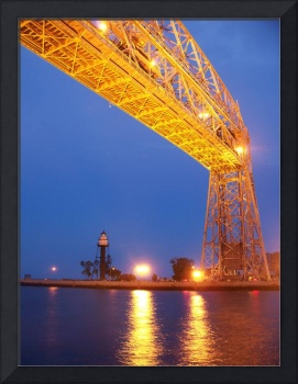 Lift Bridge Reflections