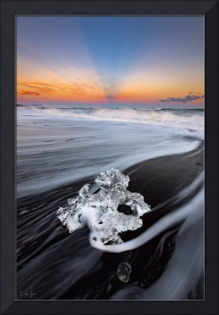 Diamond Beach in Iceland by Cody York_115A4122