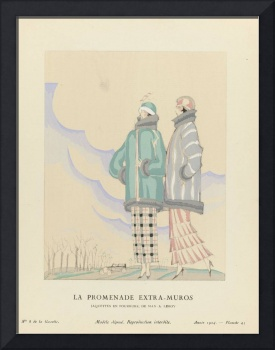 Fashion Poster 1900-1920s Series - 27