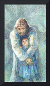 Standing Christ With Child