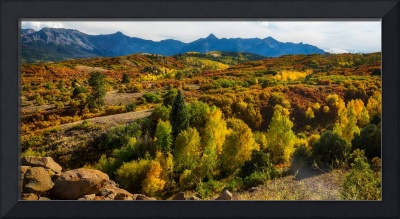Colorado Fall Foliage Color Panorama