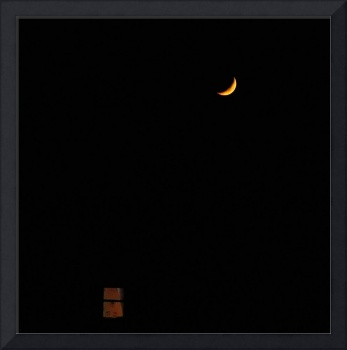 Moon and window