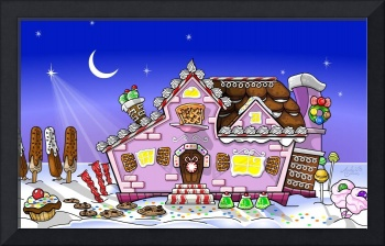 Candy House - Exterior (ecard animation)