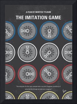 No972 My The Imitation Game minimal movie poster