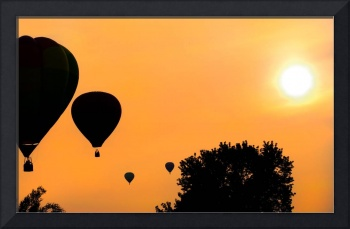 Sunset Balloons