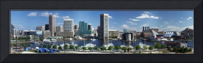 Baltimore Inner Harbor Panorama Picture