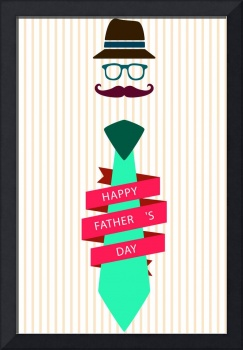 Typography Poster - Happy Father's Day v2