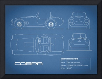 AC Cobra Blueprint