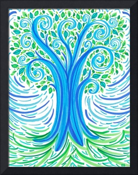 BlueGreen Tree