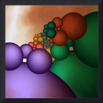 a lot of spheres -1-