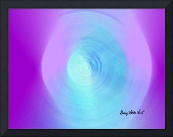 Abstract Violet Lens