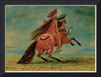 George Catlin's Crow Chief