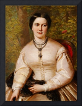 English 19th century Portrait of a lady