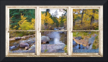 Happy Place Picture Window Frame Photo Fine Art