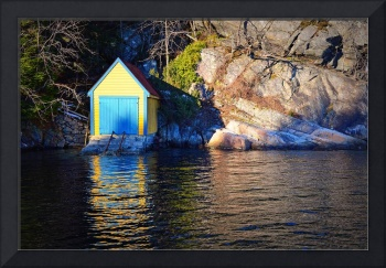 Little Boathouse In The Sun