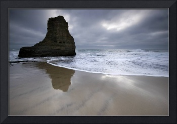 A lifetime of reflection - ocean seascape