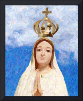 Mary Queen of Heaven as painting