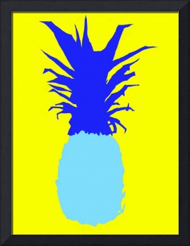Pineapple blue yellow (c)