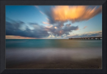 Dania Beach Pier at Sunset II