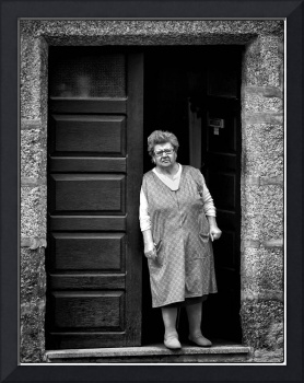 Woman In Doorway