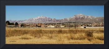 El Paso and Franklin Mountains