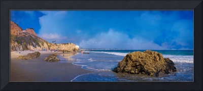 El Matador Beach Panorama