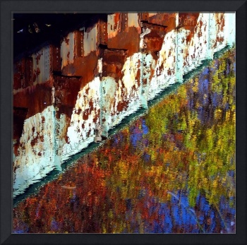 Bridge Reflection Abstract
