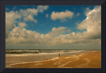 Beach in Holland