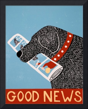 Good News Dog Black