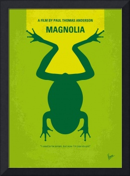 No159 My MAGNOLIA minimal movie poster