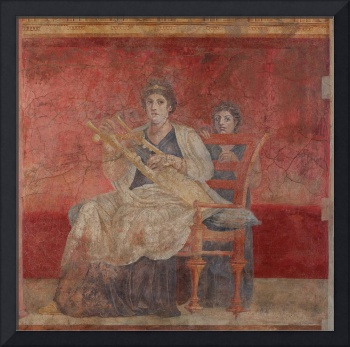 Wall painting from Room H of the Villa of P. Fanni