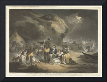 African Hospitality, John Raphael Smith, after Geo