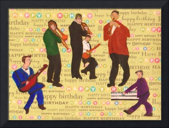 HAPPY BIRTHDAY JAZZ MUSICIANS