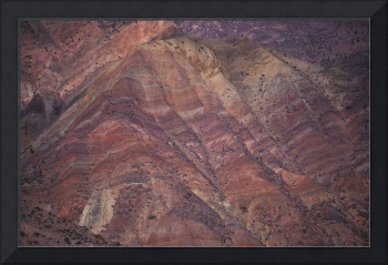 Color Hills in Purmamarca, Province of Jujuy, Arge