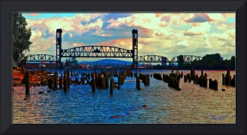 Willamette Sunset Panoramic