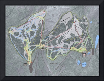 Mt Baker Resort Trail Map