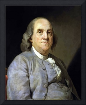 Digitally restored vector painting of Benjamin Fra